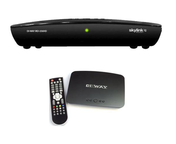 DI-WAY IRD-265HD IRDETO H.265 HEVC SKYLINK READY